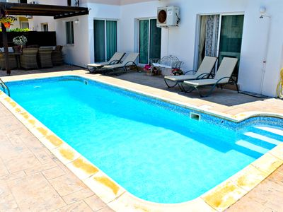 Photo for Kato Paphos - Universal - 3 Bed Apartment with Private Swimming Pool - Wifi