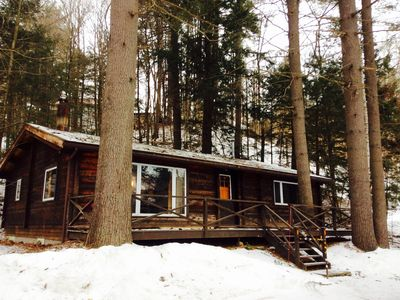 Photo for Charming Cabin with Great Location! Two Miles from Sugarbush.