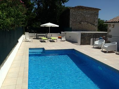 Photo for Barn Conversion with Private Pool and Sea View
