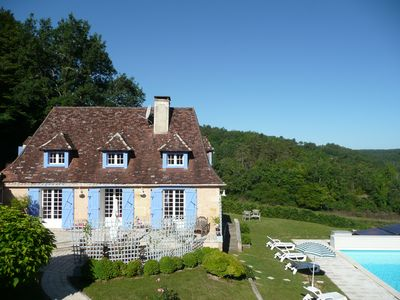 Photo for Cottage, private pool in forest valley ideal for tranquility, peace and quiet