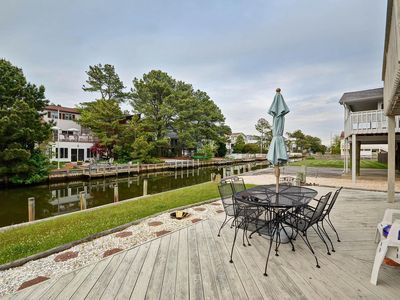 Photo for 4 Bedroom 3 Bath home on the Canal in South Bethany only 1.5 blocks to the beach