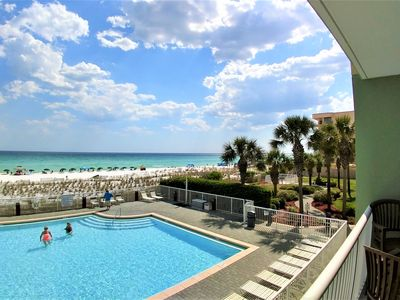 Photo for Make Memories! Beautiful Beachfront Condo - Incredible view!