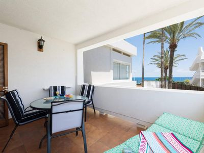 Photo for BEACH FRONT SEA VIEW APARTMENT