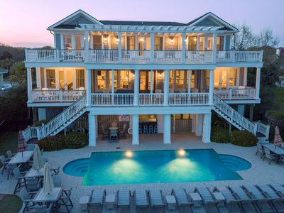 Port of Call on Isle of Palms ~ OCEAN FRONT, Pool, boardwalk, putting green