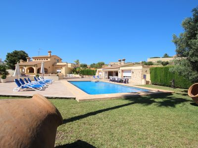 Photo for Luxury Villa Surrounded by Vineyards - 7bd Great for Big Groups w/Private Pool