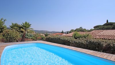 Photo for Villa 9 people - Private pool - Air conditioning - WiFi - Near center and beach - Sainte-Maxime