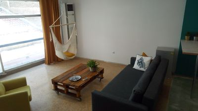 Photo for Modern + quiet, loft15 minites walk to Acropolis! Heart of Athens
