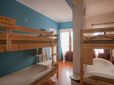 Photo for 6 Bed dorm: Chill Hill Hostel & Private Rooms - Peach Garden (RNAL Nº 7624 / AL)