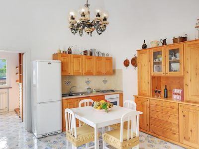 Photo for Casa Giuseppe apartment in Sant Agnello with air conditioning & private parking.