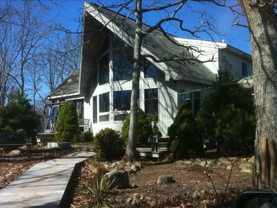 Photo for Boat Builder's Chalet beside State Forest in West Tisbury - Lamberts Cove Beach