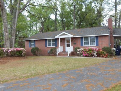 Photo for House In City But Feels Like Woods.  Just Miles From Camp Lejeune And Beaches