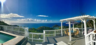 Photo for Amazing ocean views and incredible caribbean breezes at this villa