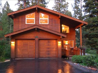 Photo for Peak Lake Cathedral Pines-Luxury 3 Bdrm-Hot Tub-DSL-Walk to Town