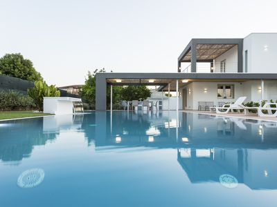 Photo for Villa Zoe features a swimming pool