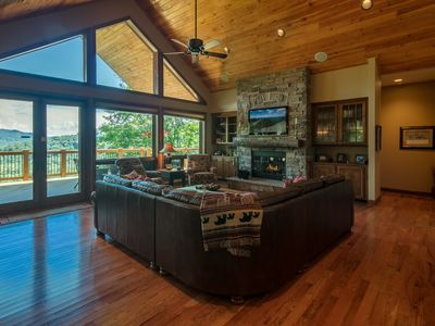 Photo for Unbridled Luxury on Sugar Mountain - 3 Bedrooms, Game Room, View, Hot Tub  (BSL128)