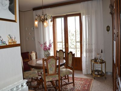 Photo for A Quiet And Sunny Appartment With A View Overlooking The Val Di Chiana