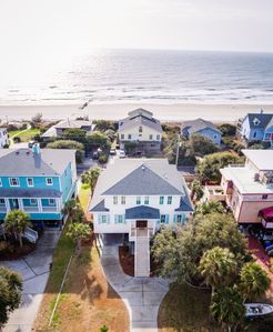 Photo for Luxury Home w/ Large Porches & OCEAN VIEWS!