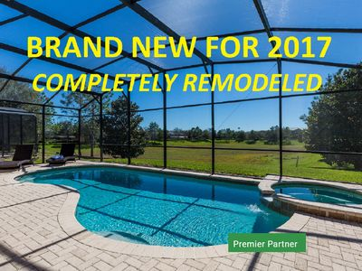 Photo for South Facing Pool with No Rear Neighbors - Brand New in 2017
