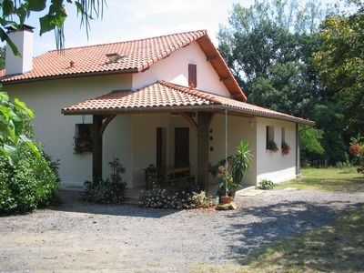 Photo for Landes, Bégaar, 4 star cottage with pool