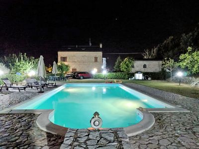 Photo for Beautiful private villa for 4 people with pool, WIFI, TV and parking