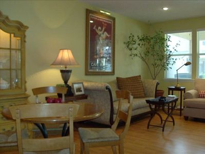 Living Room -Jacksonville, Florida Townhome Rental
