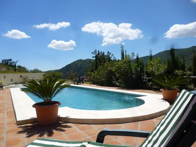 9 meter Swimming Pool......a few lengths and then relax and enjoy the views!