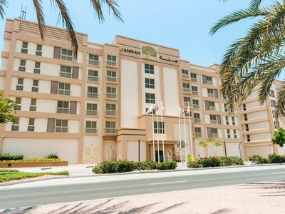 Photo for This Seaview apartment over seeing the Ras Al Khaimah beachfront