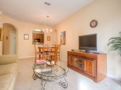 Photo for This vacation home  is a lovely 2-bedroom, 2-bathroom condo in a quiet area of the Vista Cay Resort in beautiful Orlando, Florida. Located on the second floor