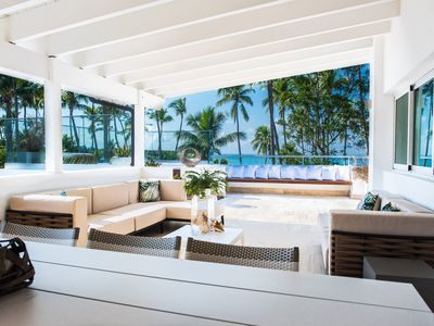 Photo for A private Paradise Penthouse on the beach to rent