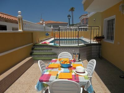 Photo for Tranquil 2 Bedroom Villa. Near Los Cristianos. Sleeps 6 guests.