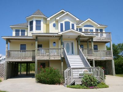 Photo for Our Lighthouse: 5 BR / 4 BA house in Corolla, Sleeps 10