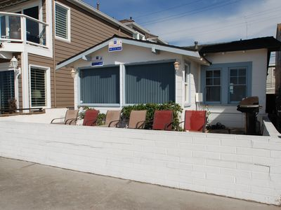 Photo for Oceanfront Home - Walking Distance of Newport Pier, Dining, and Shops