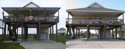 Photo for Large Group Beach Retreat! Two Houses 8 bedrooms/4 baths