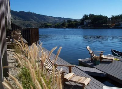 Relax by the water of Seadrift Lagoon, then jump in for a dip or a canoe ride.