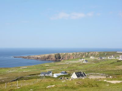View from the property of the Donegal coastline