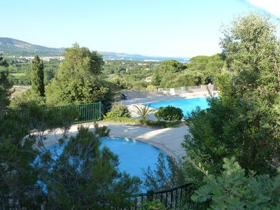 "Photo for Lastminute CONTEMPORARY HOUSE QUIET PLACE BEACH 2 km ""Panorama du golfe-cogolin"""