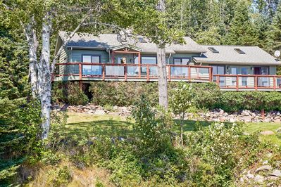 Located 150 feet from the shoreline of Lake Superior, this home promises a memorable retreat!
