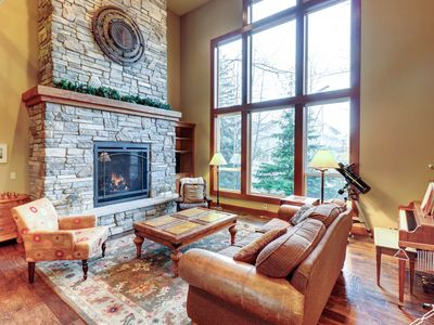 Photo for Family-friendly home with private hot tub - near ski slopes & more!