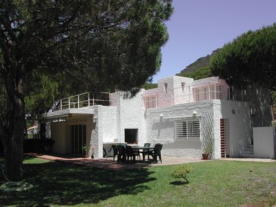 Photo for Ibiza style villa located only 200 m. Beach (5 minutes walk