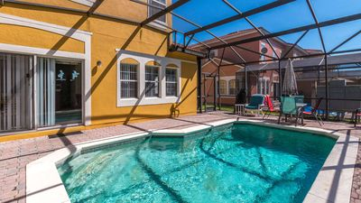 Photo for Wonderful 4 bedroom townhome + pool in the Terra Verde Resort, close to Disney!