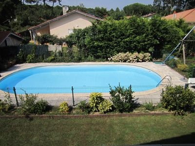 Photo for Ondres - house with pool, beach walk