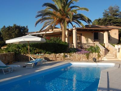 Photo for Villa Close to the Beach with Stunning Sea View, Garden and Terrace