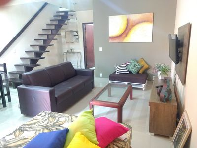 Photo for BEAUTIFUL HOUSE CABO FRIO 2 BLOCKS FROM FOGUETE BEACH