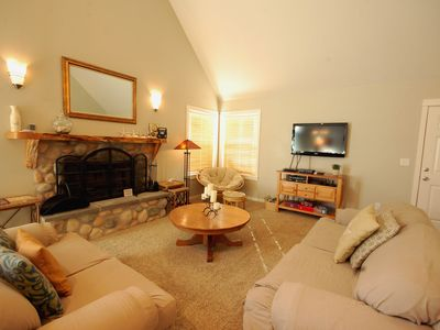 Photo for The perfect family retreat! Playground and beach nearby, all of the amenities!