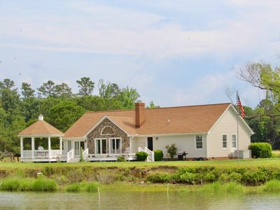 Photo for Exquisite Riverfront Living! Newly renovated;  convenient to historic sites.