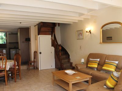 Photo for Attractive 3-bedroomed terrace house in walking distance of the heart of Dinan