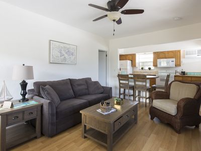 Photo for 1b/1b Penthouse Unit with Private Deck- By the Beach!