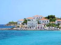 Beautiful, typically Greek mansion house with fabulous view.