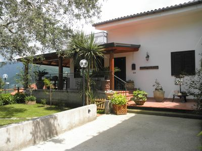 Photo for holiday home a few km from the Sorrento peninsula with garden and parking space