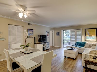 Photo for First Floor Gem, Larger Unit, Close To Beach!